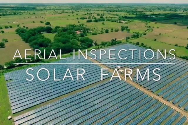 Solar farm inspection