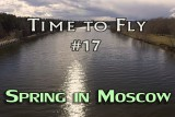 Spring day in Moscow (April). DJI PHANTOM 4 drone video