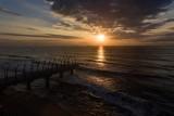 Whalebone peer at sunrise