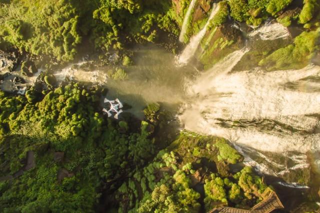 Droning at Iguazu Falls