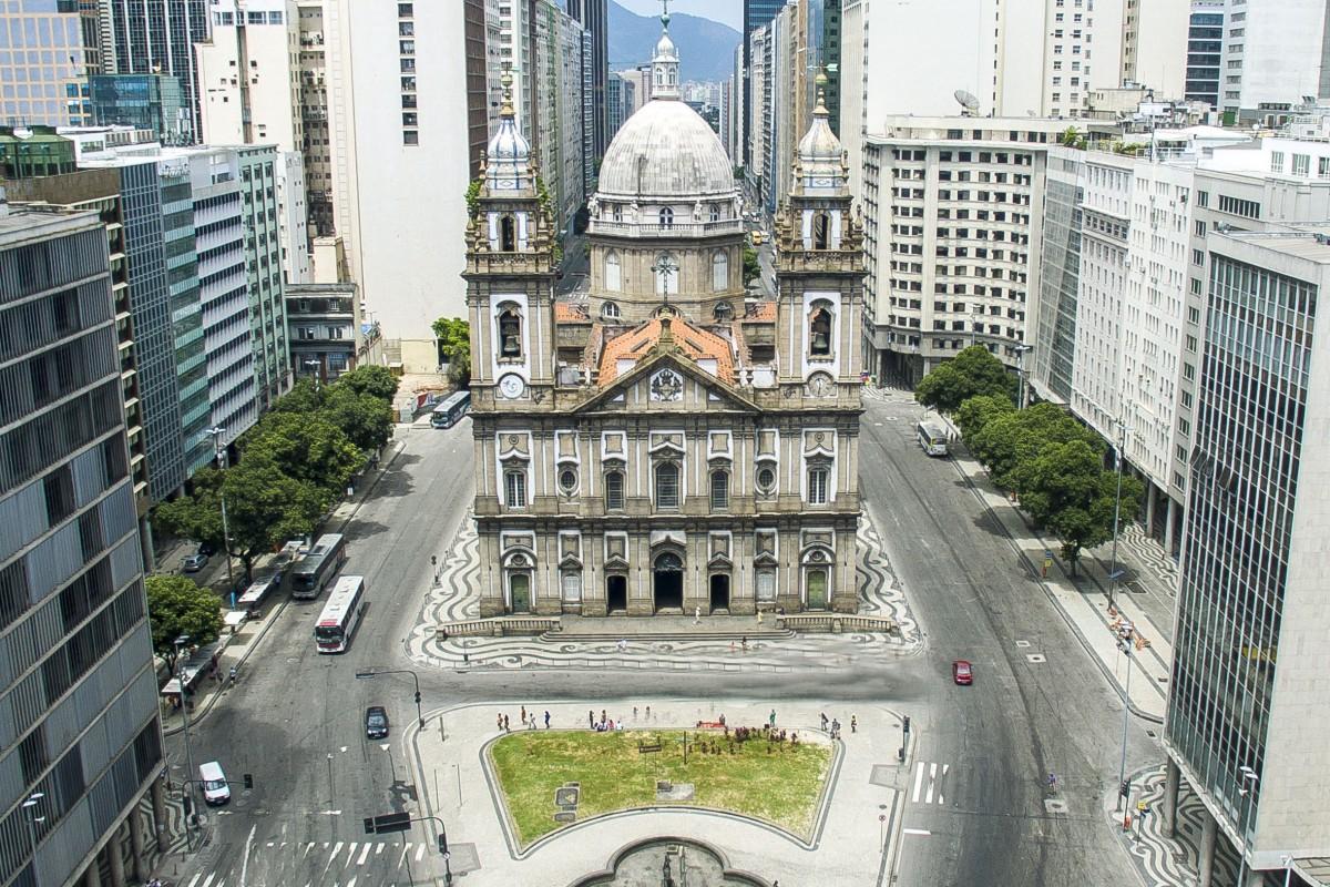 Candelária Church, Rio de Janeiro, Brazil