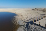Salton Sea, exposed playa
