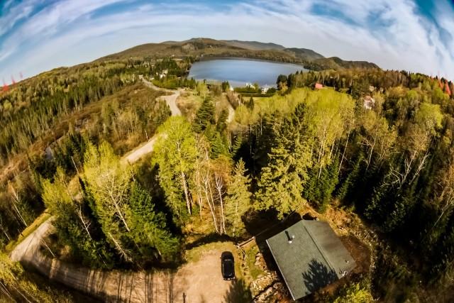 Lac-Supérieur, Laurentides, Quebec, Canada