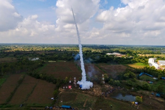 Rocket Launch, Yasothon, Thailand