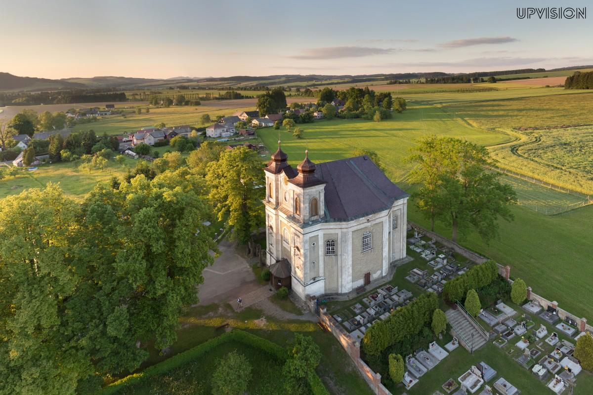 Baroque church in Czech republic