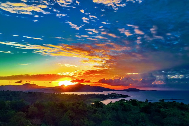 Mayotte Sunset
