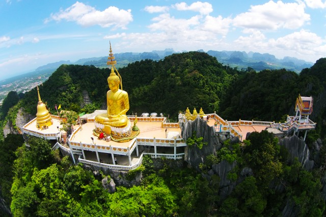 Thailand Temples by drone