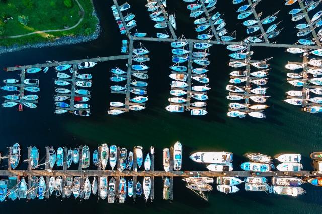 Overhead of a Wharf