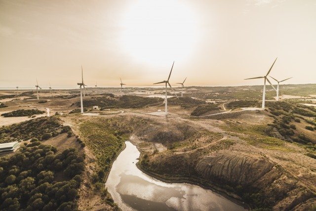 Windmills in Andalusia
