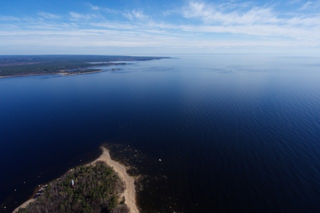 Gorgeous view of Gulf of Finland
