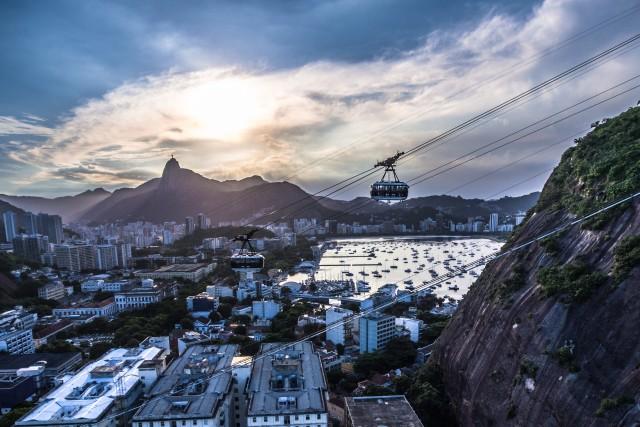 Bondinho, Rio de Janeiro, RJ, Brazil.