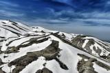 Melting may snow on Mzaar summit, Mount Lebanon
