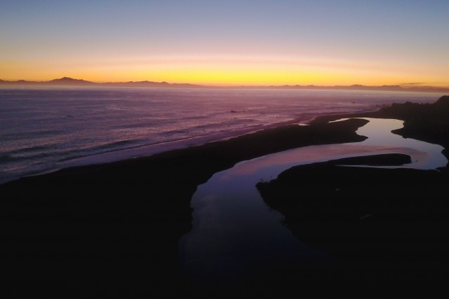 Island to Island sunset