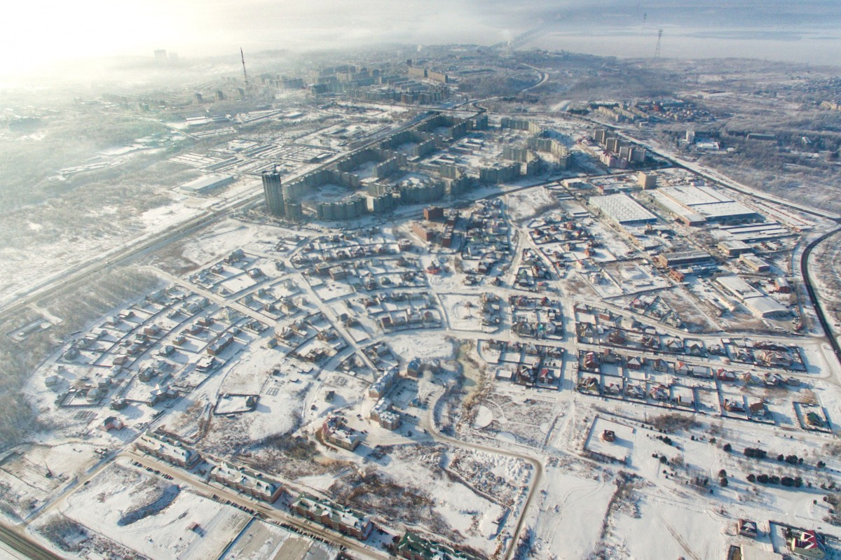 The city of Khabarovsk