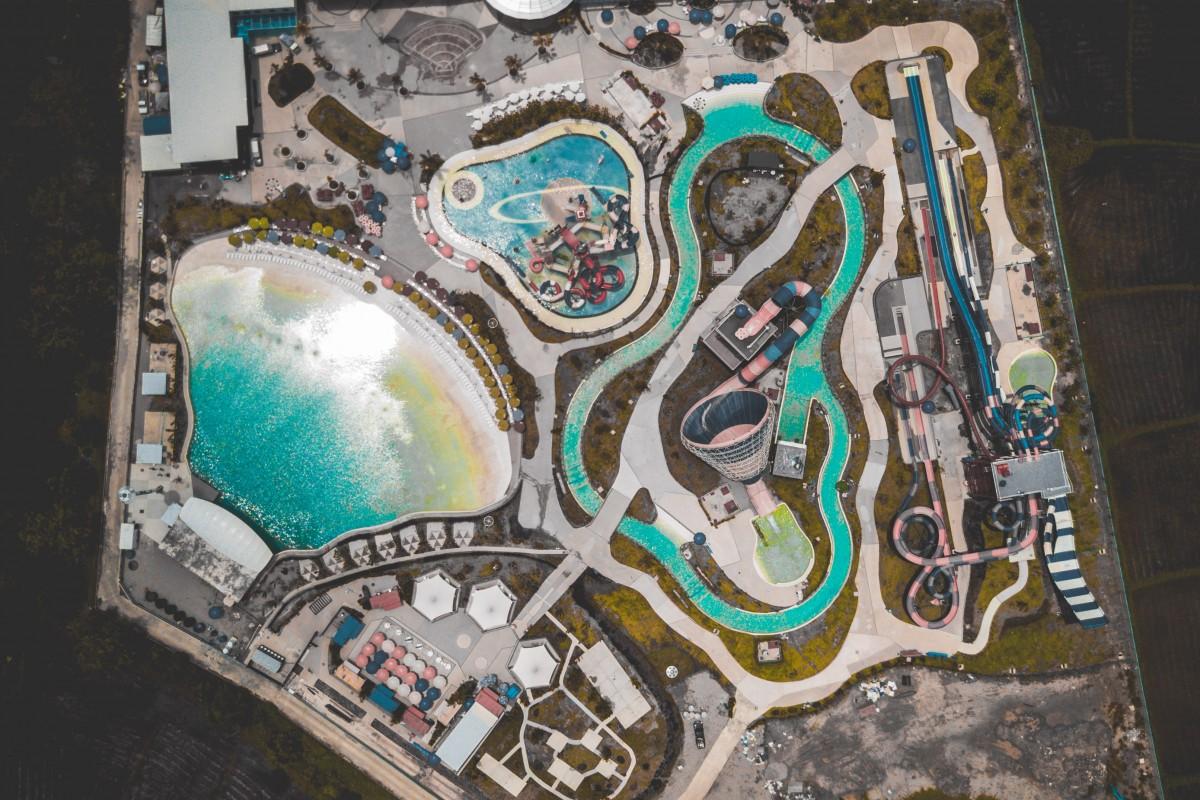 Aerial Waterpark Chiang Mai Thailand