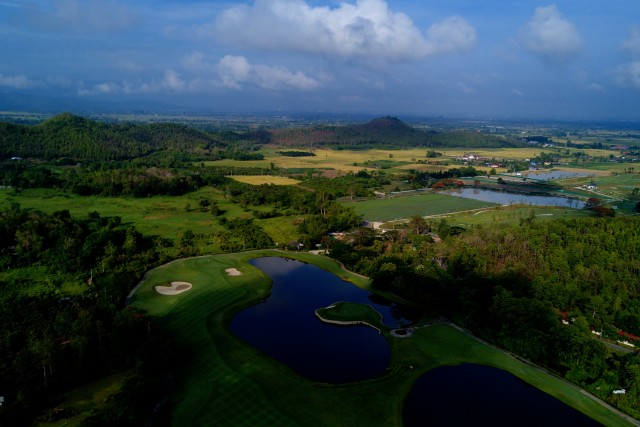 Landscape View Of Alpine Golf Course In Chiang Mai