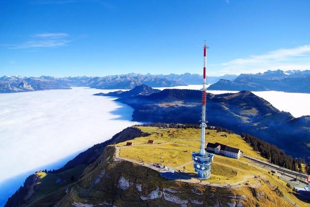 Rigi Kulm, Arth, Schwyz, Schweiz