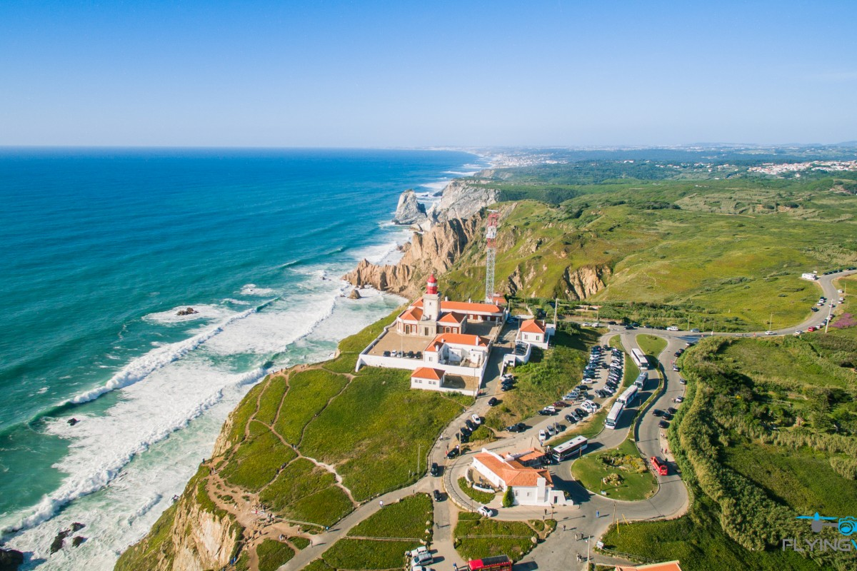 Cabo da Roca Portugal – From Above