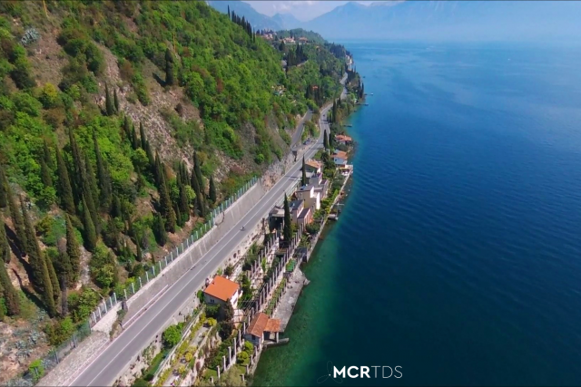 Gardesana, Lago di Garda, Italia.