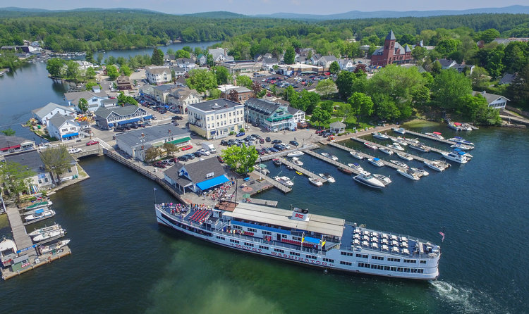 MS Mt. Washington at Wolfeboro Town Dock