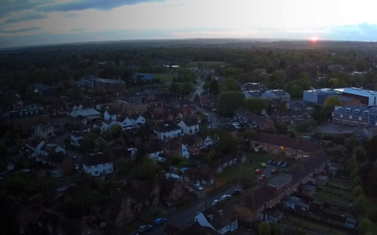 Beaconsfield At SunSet