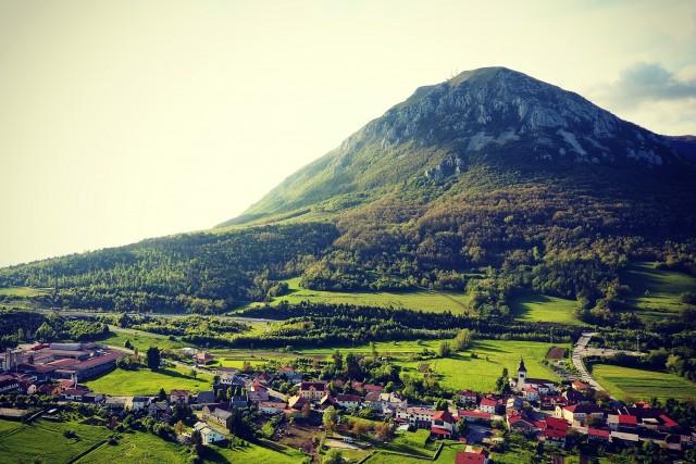 Nanos mountain
