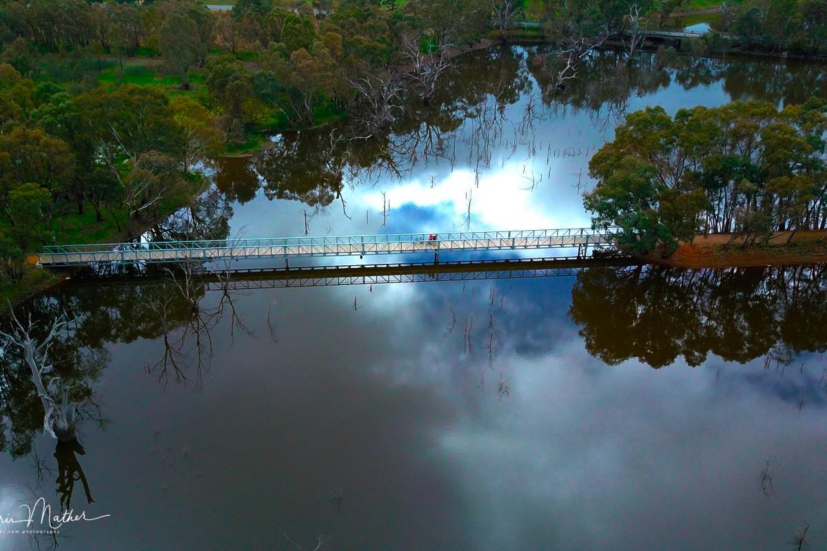 O'Keefe Rail Trail – Bridge over Lake Eppalock