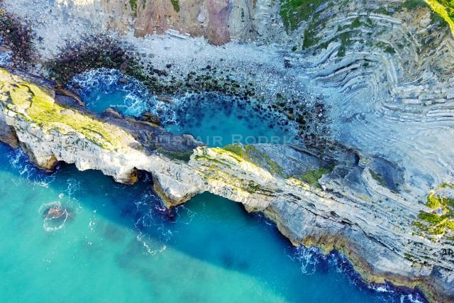 Stair hole, Lulworth Cove, Dorset