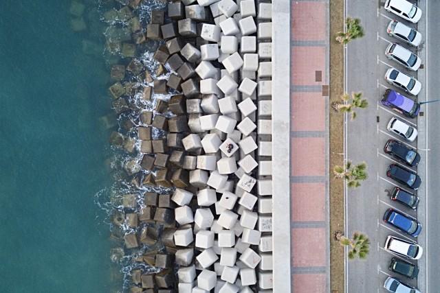 Malaga Rock Pier, Malaga, Spain