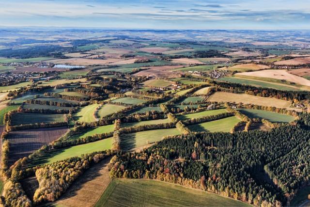 Czech nature nearby Ratiborske hory