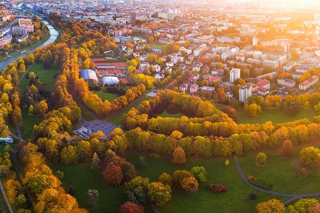 Komenského sady, Ostrava, Czech Republic