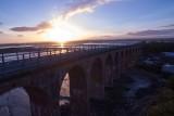 The old railway viaduct