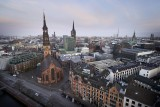 Hamburg bevore sunrise