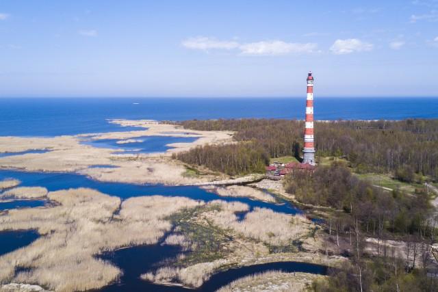 Storozhno, The Lighthouse, Russia