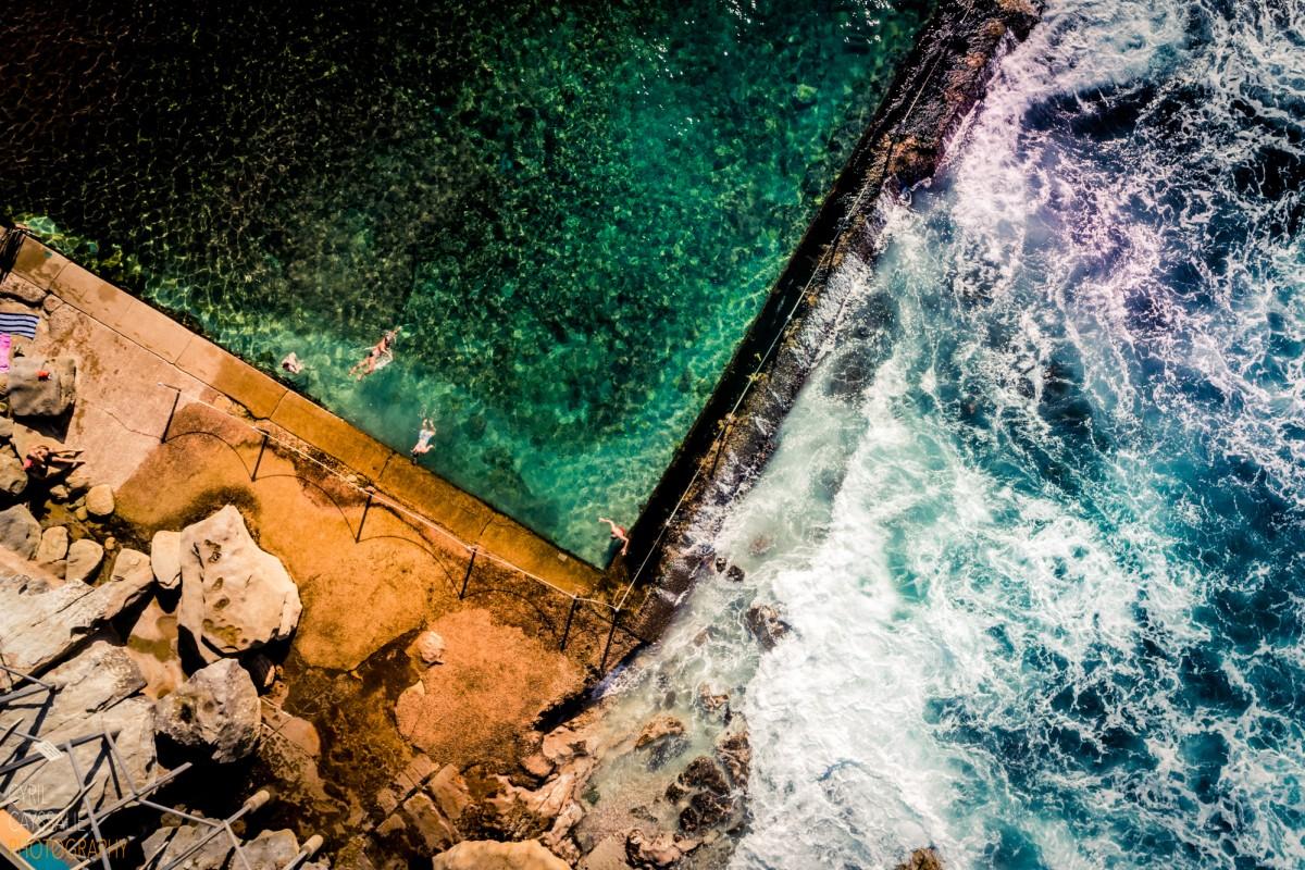 Wylie's Baths Swimmers II, Coogee, Sydney, Australia