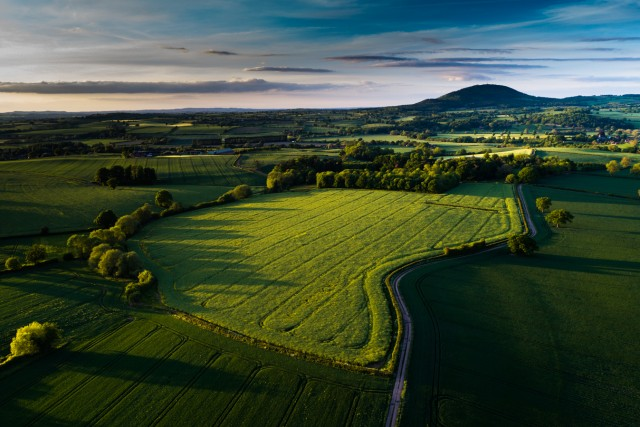 The Wrekin, Shropshire, UK