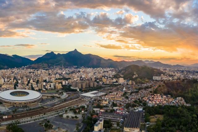 Tijuca com Maracana, Estação de Metro e Quinta da Boa Vista, Rio de Janerio, RJ, Brazil