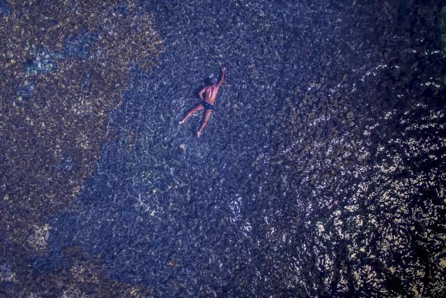 The Spider man – Natural pools of Picaozinho, João Pessoa – Paraíba / Brasil