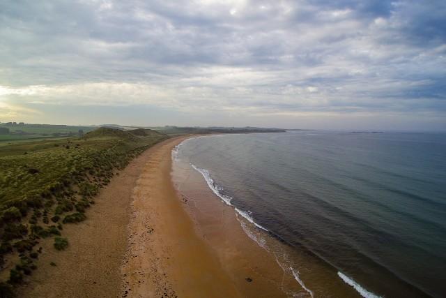 Dunstanburgh Beach (View North)