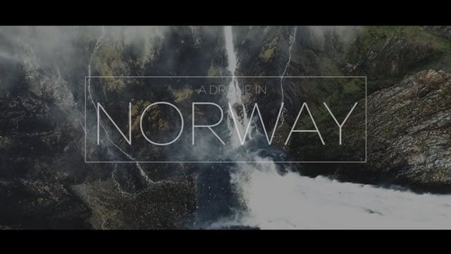 A Drone In Norway
