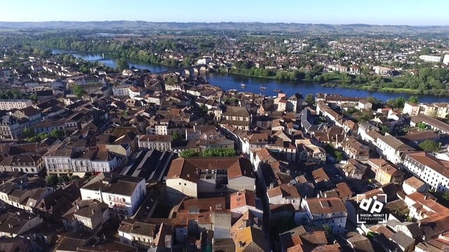 Bergerac by drone