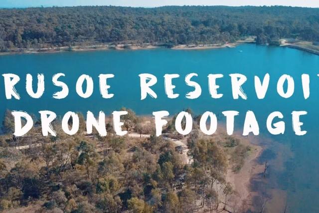 Crusoe Reservoir – Drone Footage (Mavic Pro)