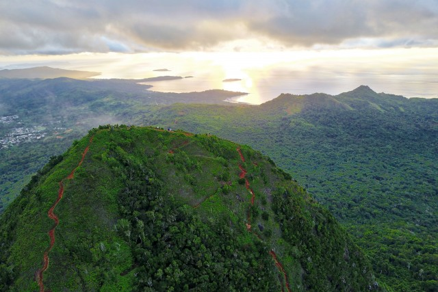 Sunrise – Mount Choungui – Mayotte