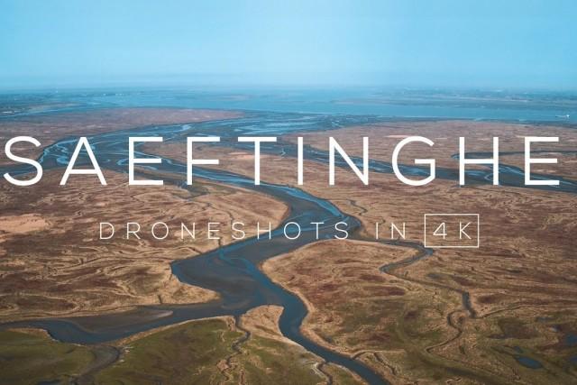 Drowned land of Saeftinghe, Zeeland, The Netherlands