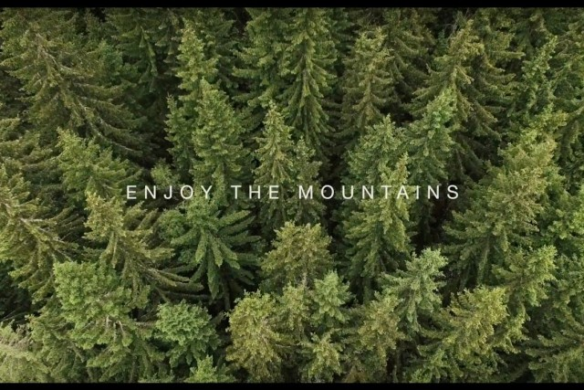 Enjoy the mountains!