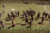 Epic Knight Battle aerial | Medieval fight reenactment from drone DJI Phantom 4.