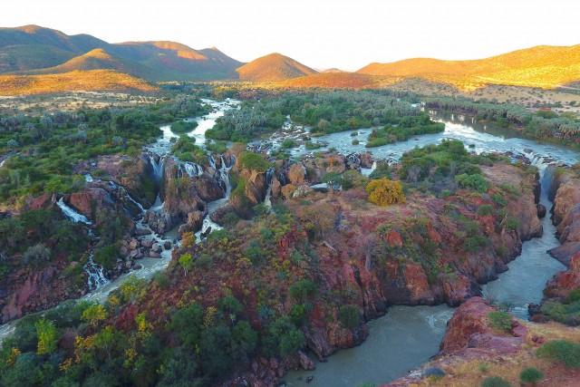 Epupa Falls sunset