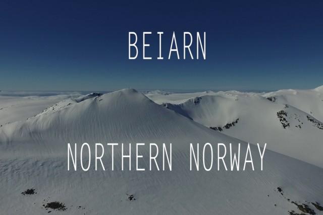 Freeride in Beiarn, Northern Norway