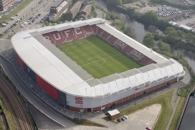 New York Stadium in Rotherham UK