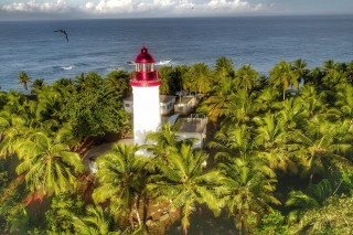 Morning light on the lighthouse